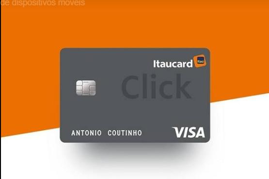 Itaucard Click: Novo cartão sem anuidade do Itaú tem opção Visa e ...